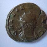 antoninien, Rome 3.13 g, 258-259, 1e off, Avers: GALLIENVS AVG Buste radié et cuirassé de Gallien à droite