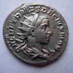 antoninien, Rome 2e ém 5e off 250-251, 3.96 g, Avers: Q HER ETR MES DECIVS NOB C