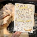Zimtschnecke (bald als Postkarte bei Kraejen Druck)