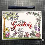 Gartenblumen (bald als Postkarte bei Kraejen Druck)