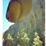 typische Felsformation im unteren Latmos