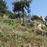 the big tomb near the split rock