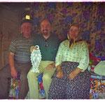 Herzliche Begegnung mit Dorfbewohnern