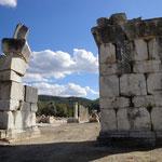 Das Haupttor an der nördlichen Stadtmauer