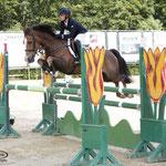 Thijmen Vos en zijn winnende pony Flintstone