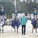 s9 Ierland wint Nations Cup pony's met Ciaran Nallon, Charlotte Houston en Abbie Sweetnam