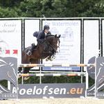 Pim Mulder en Celine (Lupicor) winnen 1.35m Hazelhorst Prij
