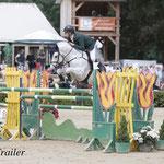 s25 Ciaran Nallon wint met Rexter d'Or de Grote Prijs voor pony's.