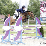 s23 Abbie Sweetnam met Perseus Spartacus wint 1.25m Small Tour pony's