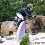 Max Wachman en Diamond winnen 1.25m Pony Small Tour