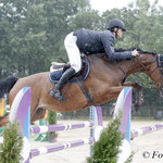 Julius Reinacher met Goodith (Grand Coeur) wint 1.40m Young Riders Small Tour