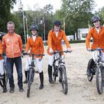 Nederlandse Young Riders winnen landenwedstrijd