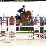 Gilles Nuytens and Nibor winners of 1.30m Van der Kolk Infra Prize for ponies