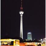"""""""Fernsehturm Berlin"""" von KLaus Fuchs, 2. Platz (11/2013)"""