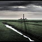 """""""Westerhäver Leuchtturm"""" von Klaus Fidelak, 2. Platz (10/2016)"""