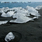 Jökulsárlón, Gletscherlagune, Ostisland (Juni 2010)