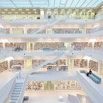 """""""Neue Bibliothek Stuttgart"""" von Klaus Fidelak, 1. Platz (08/2014)"""