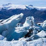 Jökulsárlón, Gletscherlagune, Ostisland (August 2011)