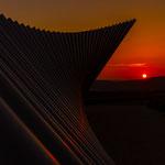 """""""Sonnenuntergang"""" von Klaus Fuchs, 2. Platz (02/2017)"""