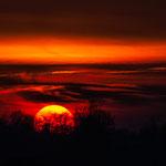"""""""Sonnenuntergang"""" von Klaus Fuchs, 1. Platz (02/2016)"""
