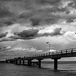 """""""Seebrücke Göhren"""" von Ralf Flinspach"""