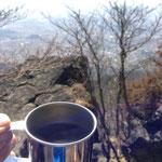 景色と乾杯