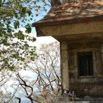 足尾山頂の神社