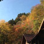 紅葉と清滝小屋
