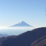 絵のような富士山