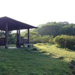古峰ヶ原高原駐車場にある休憩所