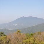 ここからの筑波山の眺めは最高です