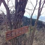 三登谷山(433m)