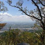 足尾山頂からの眺め!ここからの眺めが一番
