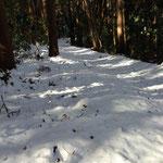 プチ雪山登山