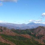 日光男体山や白根山が見えます