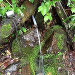 岩清水!ここで珈琲用の水をゲット
