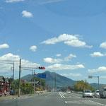 125号線からの筑波山