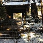 大中寺の門