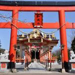 加波山神社。かなりお金がかかってそうです