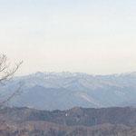 皇海山や袈裟丸山