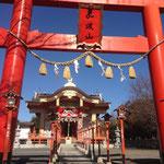 加波山神社!カラフルです