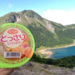 山での甘い物は最高!