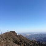 今日は男体山から女体山を眺めてみました