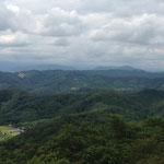 馬入不山からちょっと先に行った展望台からの眺め