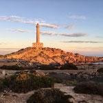 Faro Cabo de Palos im Sonnenaufgang