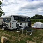 WoMo und Zelt