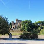 Schloß von Lourmarin in der Provence