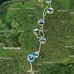 Reisetour Ostfriesland 1000 km