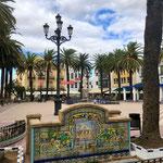 Platz in Ayamonte