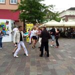 Tanzveranstaltung in Hagenau